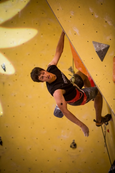 David in the 1st qualification route - (c) Vertical Axis