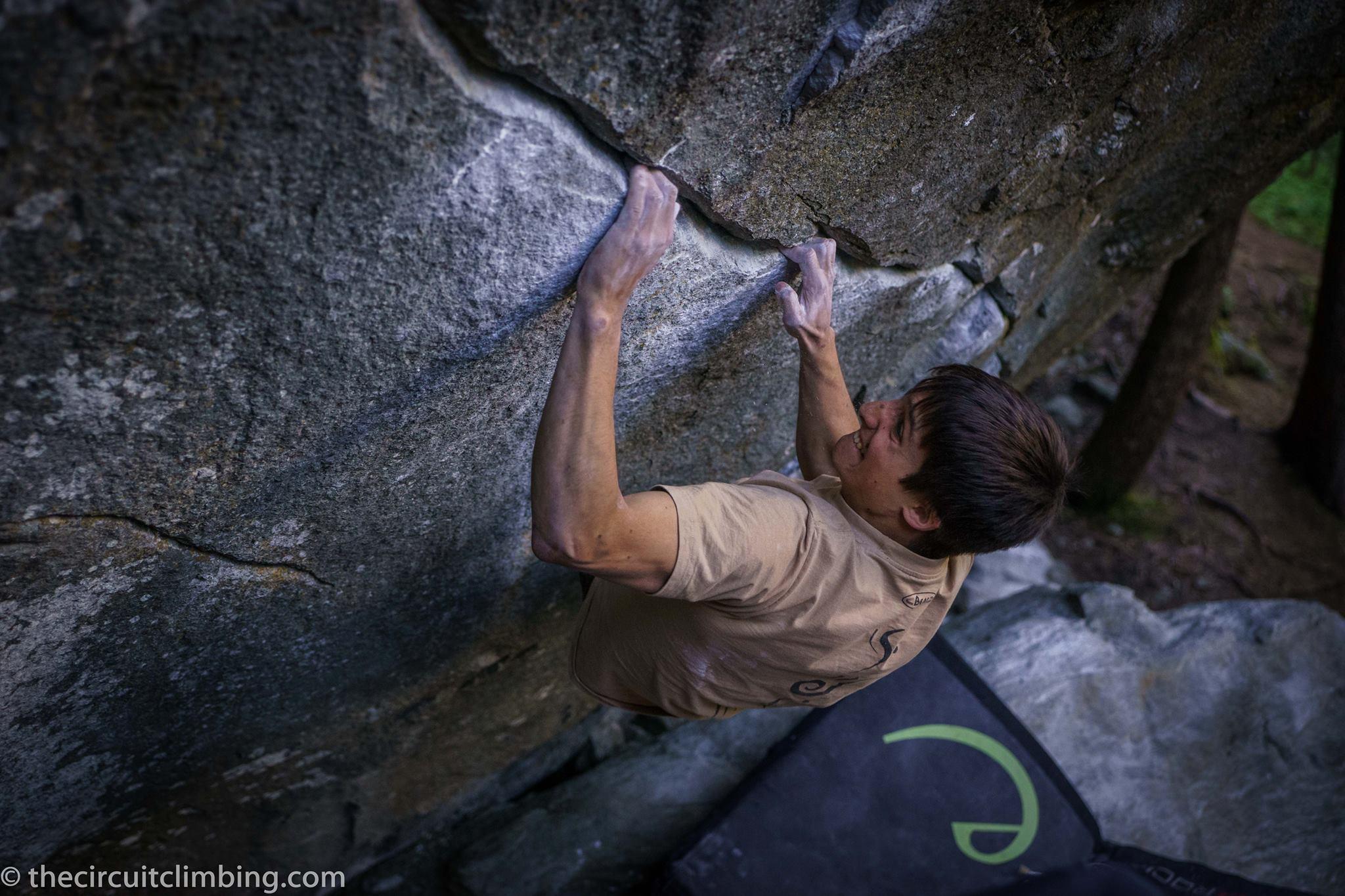 (c) Eddie Fowke (The Circuit Climbing)