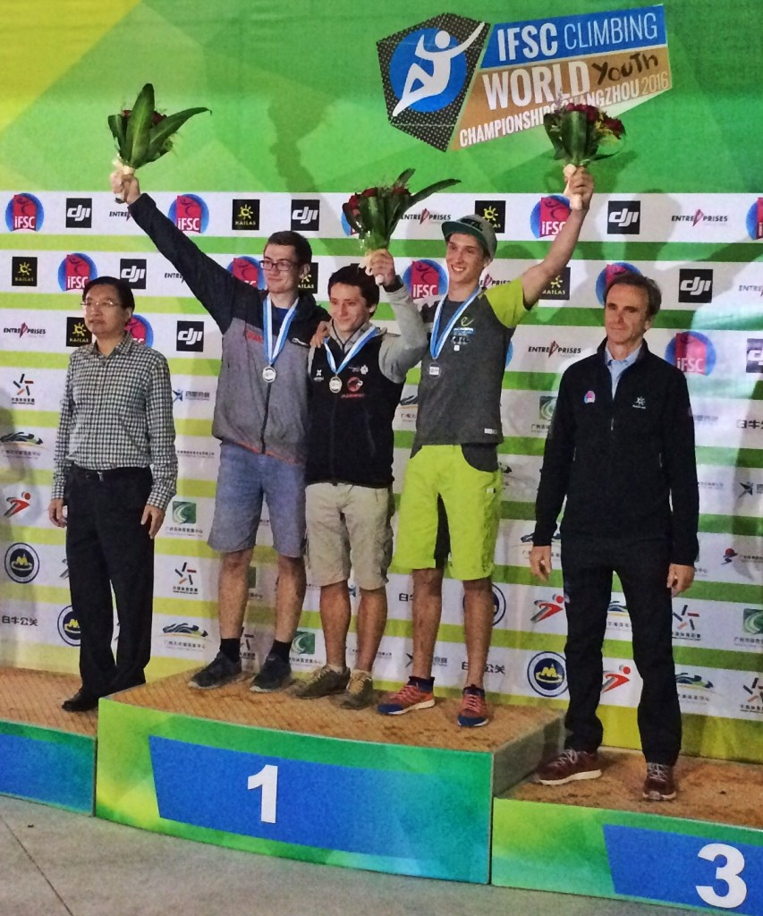 Ruben finished on the third place in the overall ranking at the Youth World Champs in China