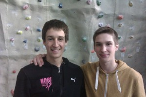 David and Ruben after the Comp