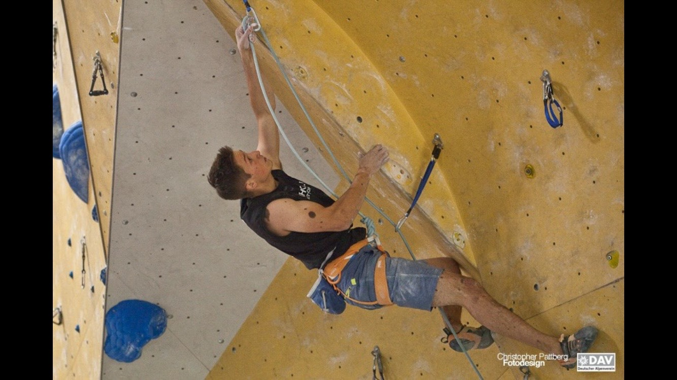 David in the 2nd qualification route in Frankenthal